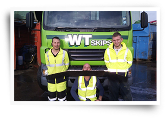WT Skip Hire take part in movember charity event
