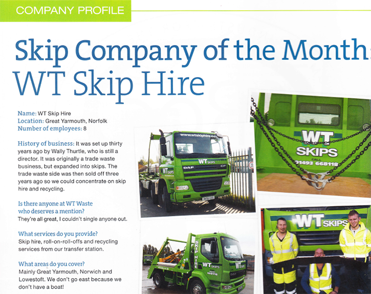 Company of the Month feature