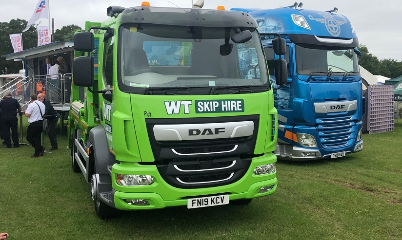 new skip lorry
