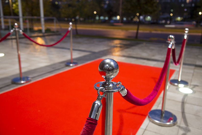 Red carpet rolled out