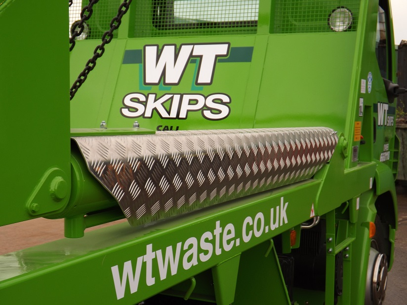Experienced skip hire firm.